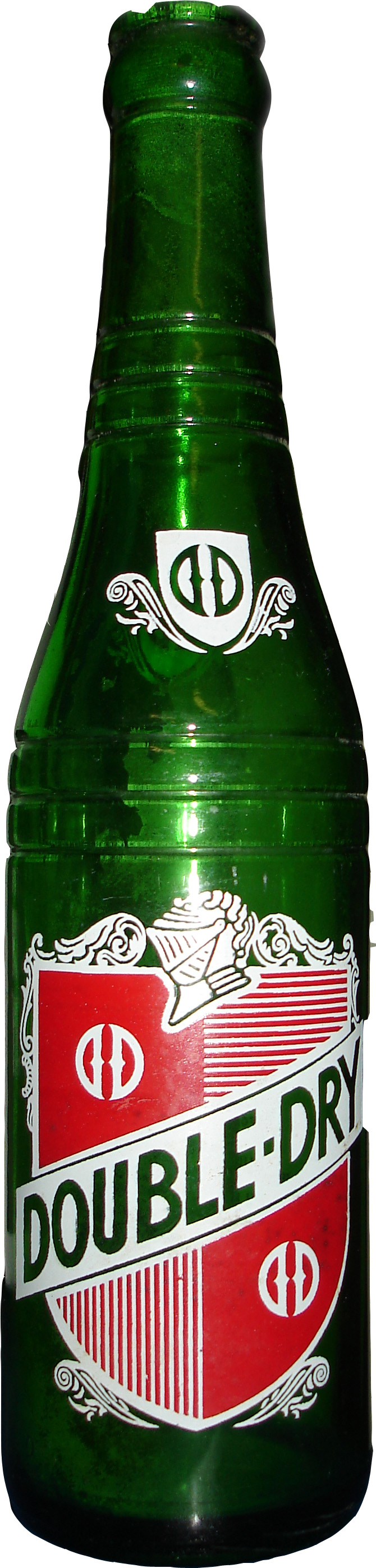 Double Dry Ginger Ale Soda Bottle